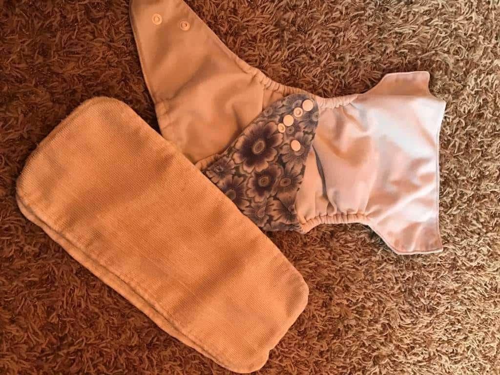 Insert pads into pocket