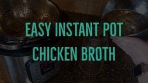 Chicken Broth Recipe Title Graphic