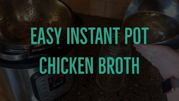 Chicken Broth Recipe Title Graphic