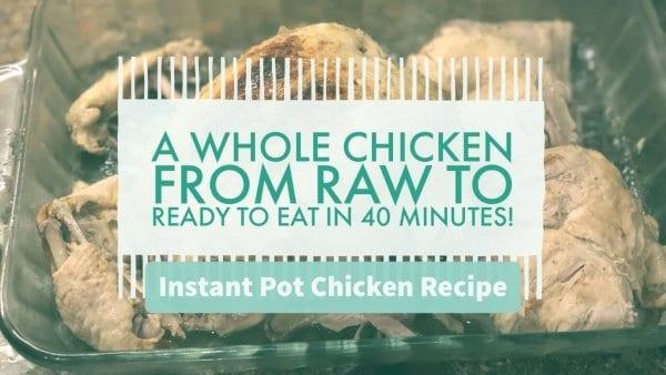 Instant Pot Chicken Recipe