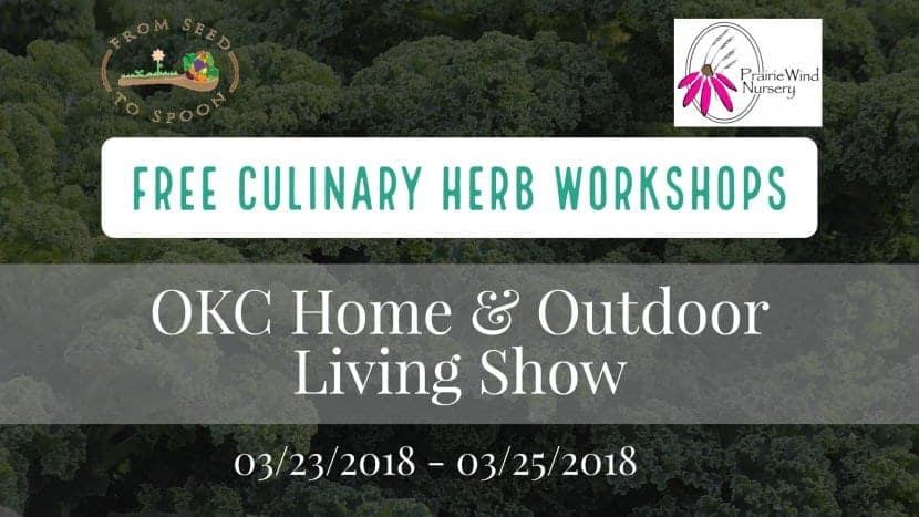 Culinary Herb Workshop – Seed to Spoon / Prairie Wind Nursery