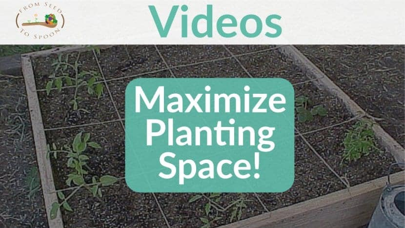 How We Maximize Planting Space