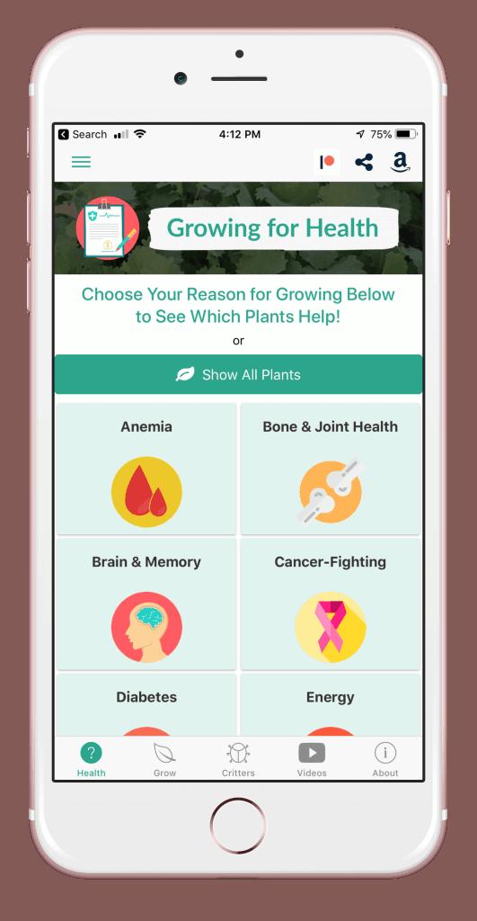 Health Benefits List