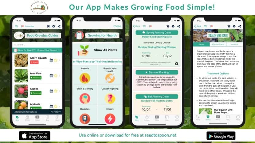 From Seed to Spoon Mobile App