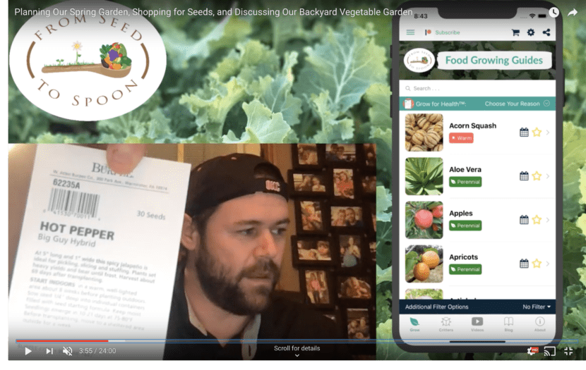 GIVEAWAY ANNOUNCEMENT! - Seed Shopping & and Discussing Our Backyard Vegetable Garden Plans!