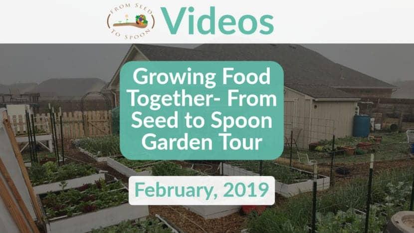 Garden tour video