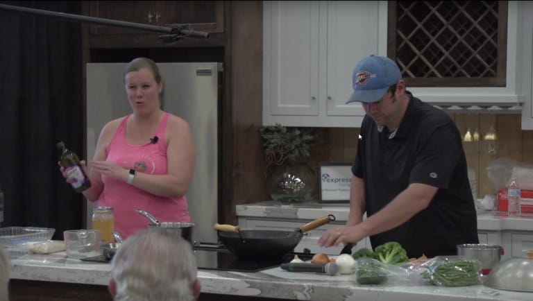 OKC Home + Garden Show Cooking Show