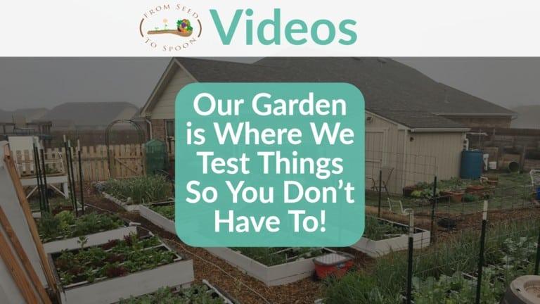 test garden video
