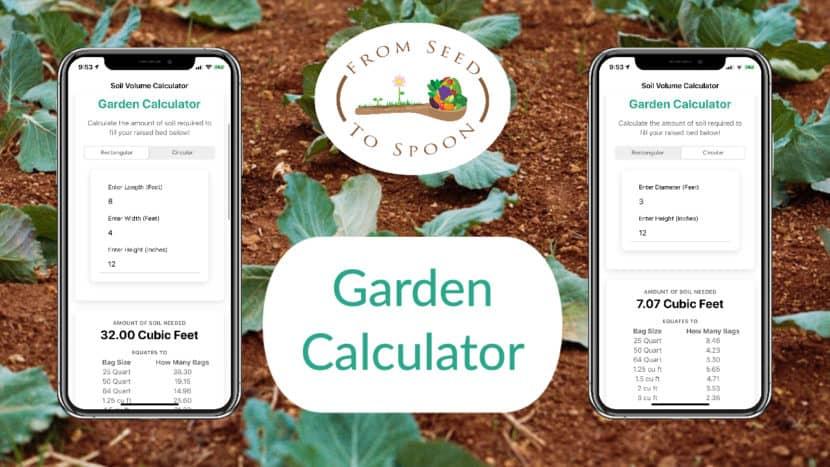 Our Garden Soil Calculator App To, Garden Bed Soil Calculator